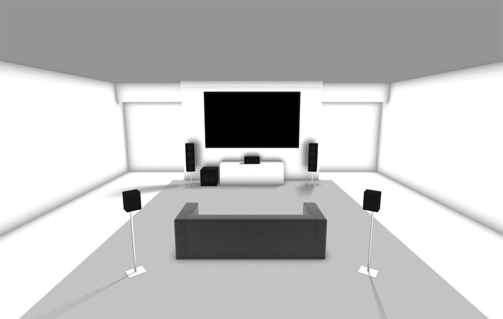5.1 Speaker Installation